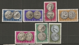 Yv. N° 675 à 684:  7/10 Valeurs   (o)  Monnaie Anciennes Cote  1,65 Euro  BE R - Used Stamps