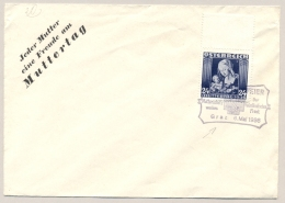 Österreich - 1936 - 24gr Muttertag On Cover With Special Cancel - No Address - 1918-1945 1ste Republiek