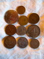 Yemen: Lot De 10 Monnaies 1963 - 1995 - Yémen