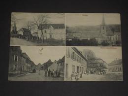 Cpa 68 Vieux Thann - Multivues Haupstrasse Kirche Partie Beim Rathaus - 1909 - Alsace - Thann