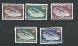 Paraguay - Série 737 à 741 , 5 Valeurs ** Surchargé Muestra ( Specimen ) - Cw29902 - Paraguay