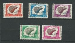 Paraguay - Yvert Série N°732 à 736 ** Surchargé Muestra ( Specimen) - Cw 30001 - Paraguay