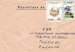 Zaire DRC Congo 1986 Kinshasa World Cup Football Argentina 100K On 1K Unrecorded Michel Einstein 50k Cover - Zaïre