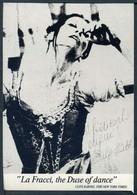 LA FRACCI The Duse Of Dance - Dedica E Autografo - Non Viaggiata - Rif. 30190 - Danza
