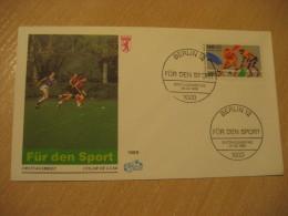 BERLIN 1989 Champions Trophy Grass Field Hockey Sobre Hierba Gazon FDC Cancel Cover Germany - Hockey (su Erba)