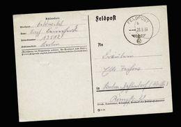 A5127) DR Feldpost Karte 28.9.39 FP Nr.13512 - Briefe U. Dokumente