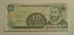 1991 - Nicaragua - 10 CENTAVOS DE CORDOBA, A/B 1844769 - Nicaragua