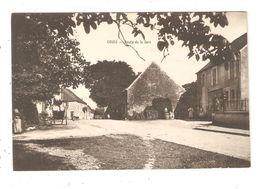 CPA 58 COURS Route De La Gare 1918 - France