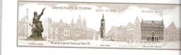Belgique-2013-Bloc212-Non-Dentelé-Blanc Et Noir-Grand-Place De Tournai-500 Ans Prise De La Ville Par Henri VIII-2 Scans - Zwarte/witte Blaadjes
