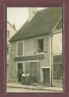 SACLAS (91) - PHOTO FORMAT CARTE POSTALE - CAFE DE LA PAIX BOISSIERE LEMIRE - 3 RUE DE LA MAIRIE - LOCALISATION GARANTIE - Autres Communes