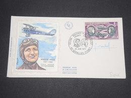 FRANCE - Enveloppe FDC De Maryse Hilz ( Aviatrice ) Signé Par La Graveur Combet - L 12894 - 1970-1979