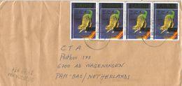 DRC Congo 2000 Uvira Overprint Prehistory Scutellosaurus 25 FC Cover - Repubblica Democratica Del Congo (1997 - ...)