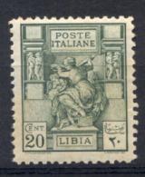 Libia 1926 Sass.54 **/MNH VF/F - Libya