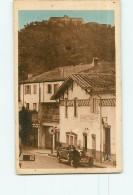 PERTHUS - Douane Française Et Fort Bellegarde - Environs Du Boulou - Animée - 2 Scans - Aduana