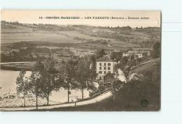 Les FARGOTS , Brenets -Frontière Franco Suisse - Douane Suisse - 2 Scans - Douane
