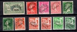 France Belle Collection De Préoblitérés Neufs ** MNH 1922/1960. Bonnes Valeurs, Gomme D'origine. TB. A Saisir! - Precancels