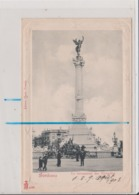 CPA - BORDEAUX - Le Monument Des Girondins - Contours En Relief - Bordeaux