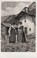 11537-DIALOGUE VALAISA-LES HAUDERES-COSTUMI-1953-FP - Costumes
