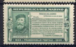 San Marino 1932 Sass.170 */MH VF - Unused Stamps