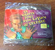 TÉLÉCARTE CANADA QUEBEC CARTE TÉLÉPHONIQUE LAPUCE TÉLÉBEC ÇA GRATTE NEUVE PHONECARD CARD - Canada