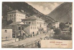 CARTOLINA DI GRONO ( GRIGIONI ) - BIANCHI NEGOZIANTE , 1907 . - GR Grisons