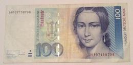 GERMANY 100 MARK 1/10/1993 - [ 6] 1949-1990 : GDR - German Dem. Rep.