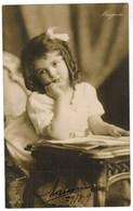 Portrait Of Little Girl By Photographer Marjorie 1907 (pk41816) - Autres Photographes