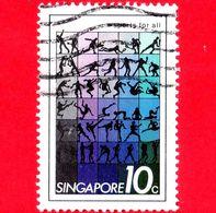 SINGAPORE - Usato - 1981 - Sport Per Tutti - Sports For All - 10 - Singapore (1959-...)