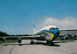 AVIATION CIVILE - ANNÉE / YEAR ~ 1960 - 1965 : LUFTHANSA / GERMANY - AVION : BOEING JET 720 B Au SOL (ab409) - 1946-....: Moderne