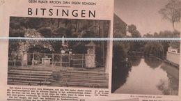 BITSINGEN...1936... BASSENGE - Vieux Papiers