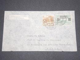 INDES NÉERLANDAISES - Enveloppe De Batavia Pour Paris En 1934 - L 12919 - Niederländisch-Indien