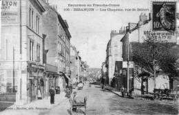 CPA De BESANCON (Doubs) - Les Chaprais, Rue De Belfort. Edition Teulet-Mosdier. Numéro 106. Circulée En 1911. Tb état. - Besancon
