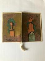 Calendarietto Barbiere D'Orsay Paris  Decò 1927 - Non Classificati