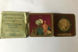 Calendarietto Barbiere Bellezze Storiche OPSO Parma 1918 - Calendari