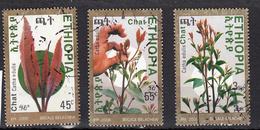 Ethiopie 2008  Mi Nr 1858 - 1860 , Bloemen, Flower - Äthiopien
