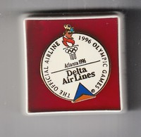 The Official Airline 1996 Olympic Games   Atlanta 1996 Delta Air Lines   RAR - Olympische Spiele