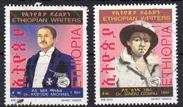 Ethiopie 2010  Mi Nr 1880+ 1881 Schrijvers, Writers - Äthiopien