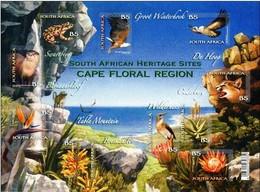 South Africa Südafrika 2011 Cape Protected Region ANIMALS BIRDS FROGS 10 V     MNH** - Vögel