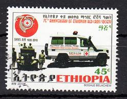 Ethiopie 2010  Mi Nr 182 Auto Rode Kruis , Red Cross - Äthiopien