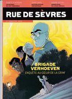 Magazine Rue De Sèvres BD 2018 Brigade Verhoeven Alary Trondheim Abouet Matz... - Otros