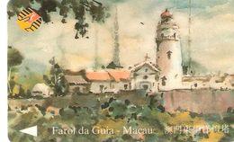 Portugal - Phonecard/ Telécarte Telecom Card / MACAU- FAROL DA GUIA - Macau
