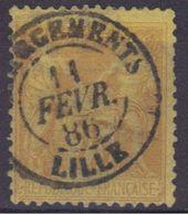 "Lille (Nord) : Càd 15 ""Chargements"" Sur Sage N°92. - 1876-1898 Sage (Type II)"