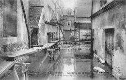 ROUEN - Crue De La Seine - Février 1910 - Rue De Fontenay - Rouen