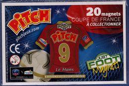 FOOT Magnet Pitch 9 Coupe De France, Maillot De Le Mans 2010 - Sports