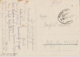"10 031 Postkarte Feldpost Bahnpost ""RHEINE-HANNOVER"" 1941 - Allemagne"