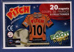 FOOT Magnet Pitch 10 Coupe De France, Maillot De Lorient 2010 - Sports