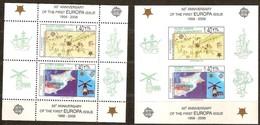 Chypre Turc Cyprus 2006 Yvertn° Bloc 23 *** MNH  Dentélé Et ND Cote 14,00 Euro 50 Ans Europa 50 Jaar - Chypre (Turquie)