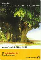 "BRD MH 45 ""20x 1,10 DM-Briefmarken (Mi. 2217 Skl) Zur Linde Zu Himmelsberg"" Gestempelt 13.09.01 Mi.-Preis 60,00 - [7] République Fédérale"