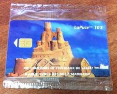 CARTE TÉLÉPHONIQUE LAPUCE TÉLÉBEC CANADA CHÂTEAUX DE SABLE NEUVE PHONECARD CARD 10$ QUEBEC - Canada