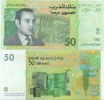 Morocco - 50 Dirhams 2002 AUNC Lemberg-Zp - Marocco
